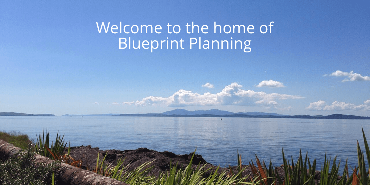 Welcome to the home of Blueprint Planning